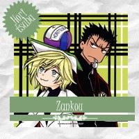 Zankou - mencionada em Horitsuba Oneshot 01